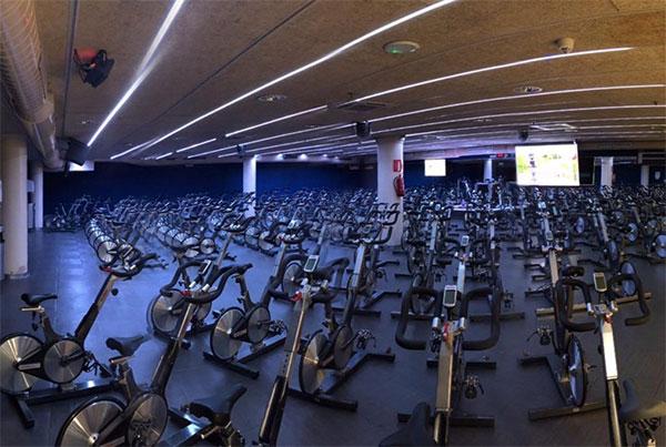 Clubs DiR estrena la sala de spinning más grande de toda Europa