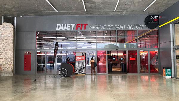 Duet Fit inaugura su gimnasio dentro del Mercado de Sant Antoni de Barcelona