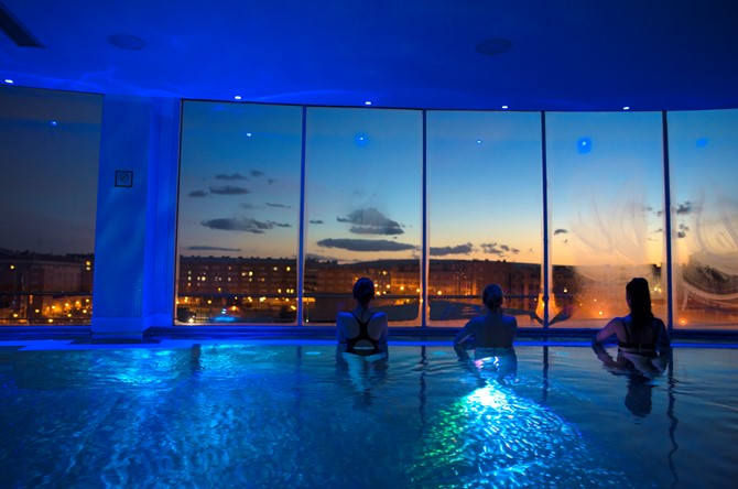 El Gran Hotel Lakua invierte 600.000 euros en renovar gimnasio, spa y piscina