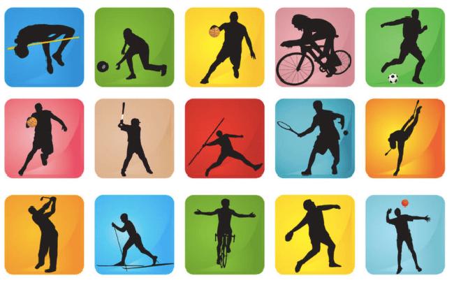 Los 10 deportes con más federados en España