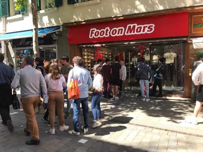 Foot on Mars alcanza las 33 tiendas tras abrir en Gibraltar