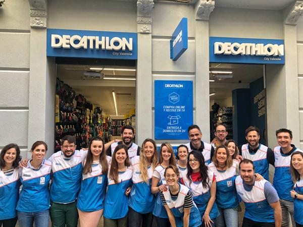 Decathlon se refuerza en Valencia