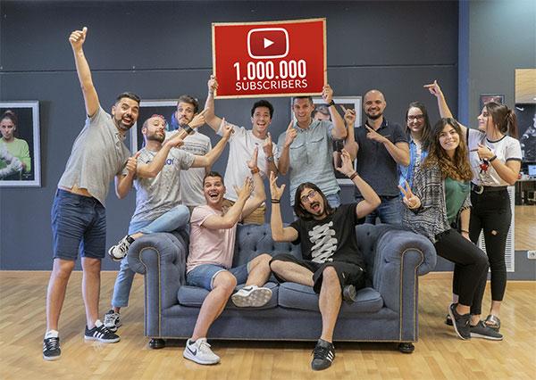 Futbol Emotion alcanza el millón de seguidores en Youtube