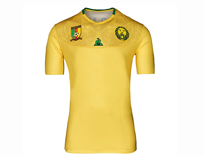 La selección femenina de fútbol de Camerún luce la nueva camiseta de Le Coq Sportif