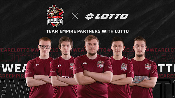 Lotto se une al Team Empire de e-Sports