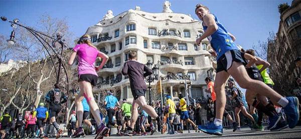 Los españoles, los más rápidos en completar un Maratón