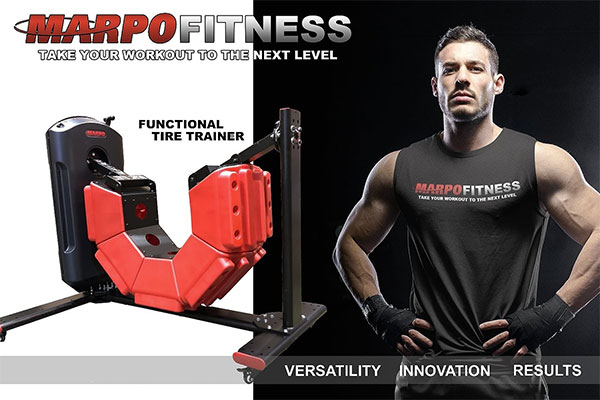 Aerobic&Fitness presenta la Marpo Functional Tire Trainer