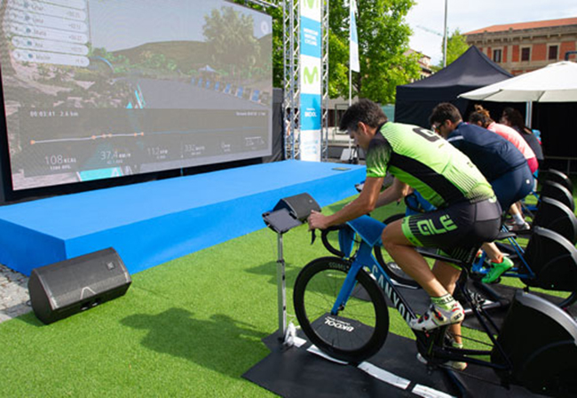 Festibike prepara la final del Movistar Virtual Cycling
