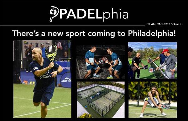 El pádel aterriza en Philadelphia