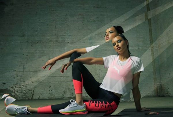 Puma y Adriana Lima presentan las nuevas zapatillas de la marca