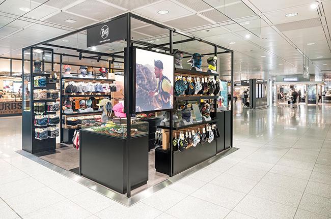 Buff implanta una tienda en el aeropuerto de Múnich