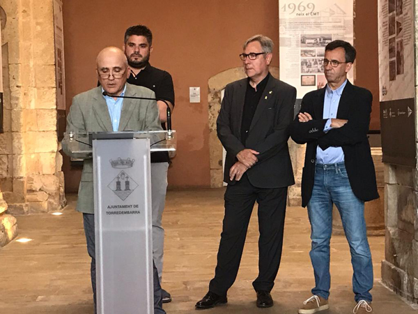 Inauguran la exposición del 50 aniversario del Club Maritim Torredembarra