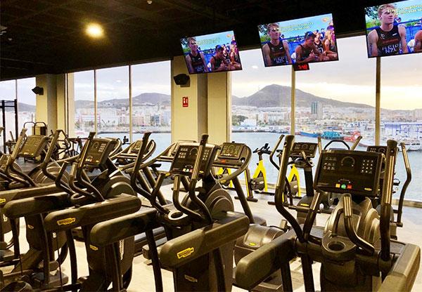 Dreamfit aterriza en Las Palmas con un gimnasio de 4.200 m2