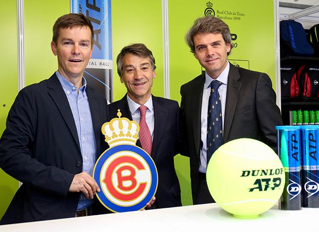 Dunlop extiende su colaboración con el tenis europeo