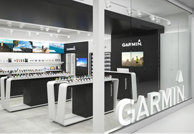 Garmin abre una nueva tienda propia en Madrid