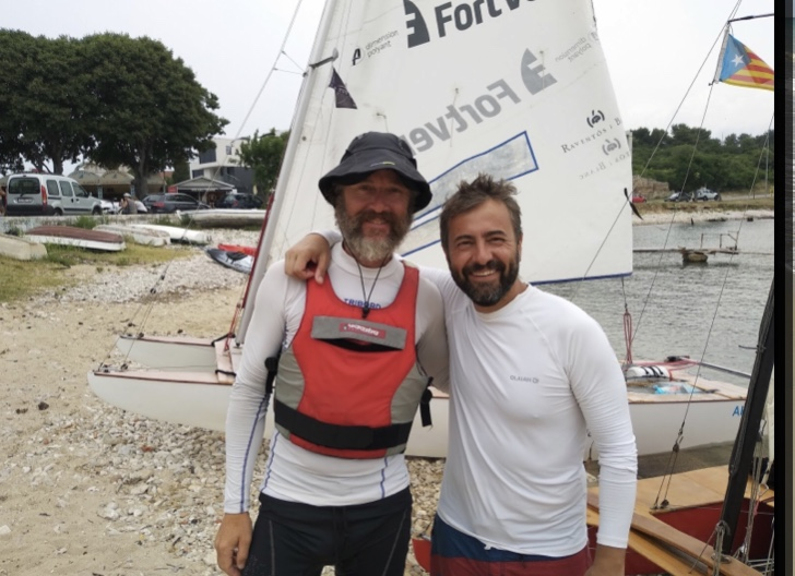 Ignasi Sagristá ya acumula 800 millas navegadas