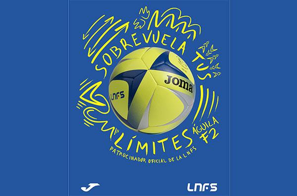 Joma presenta el balón oficial de la Liga Nacional de Futbol Sala