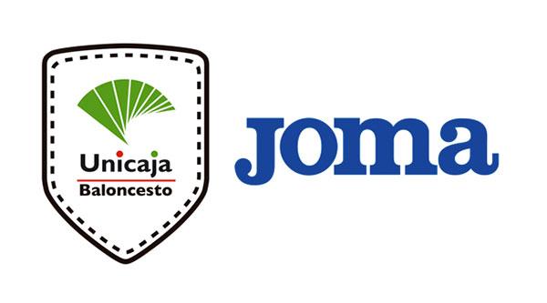 Joma vestirá a Unicaja Málaga de baloncesto