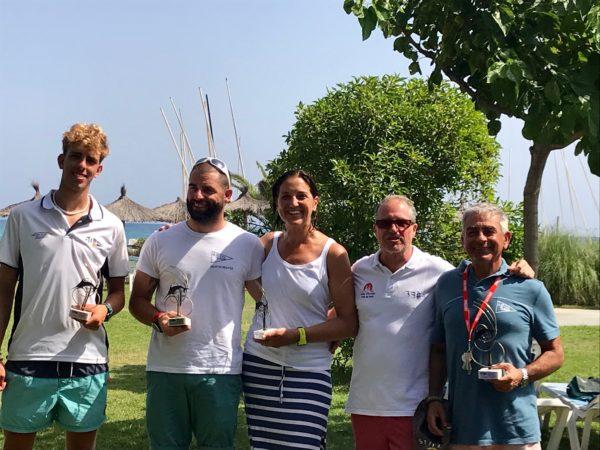 Jordi Maré y Pepe Sánchez Runde ganan el Trofeo 50 anys de Torredembarra