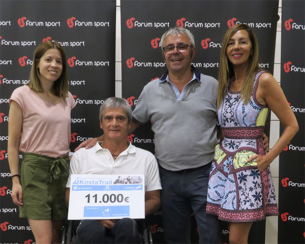 La Kosta Trail 2019 recauda 11.000 euros