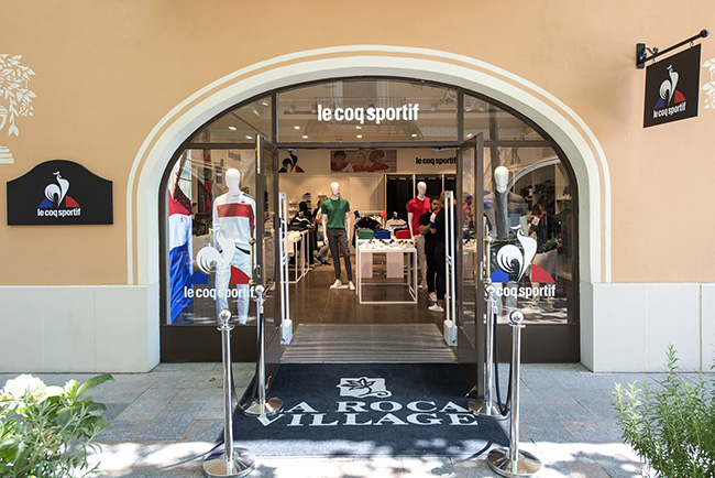 Le Coq Sportif abre una pop-up store en La Roca Village