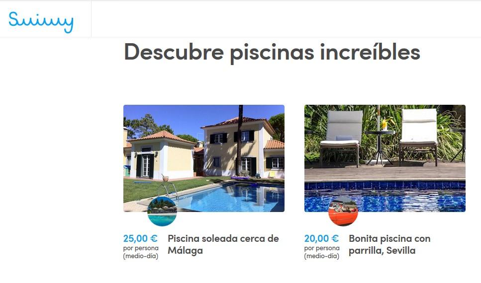 Llega a España Swimmy, la plataforma para alquilar las piscinas