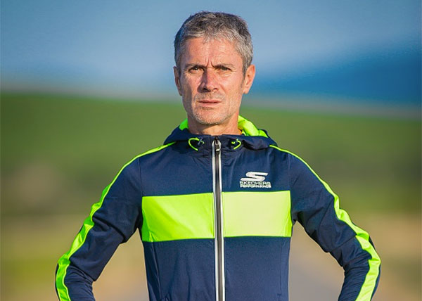 Martín Fiz bate el récord de Europa de 5.500m en mayores de 55 años