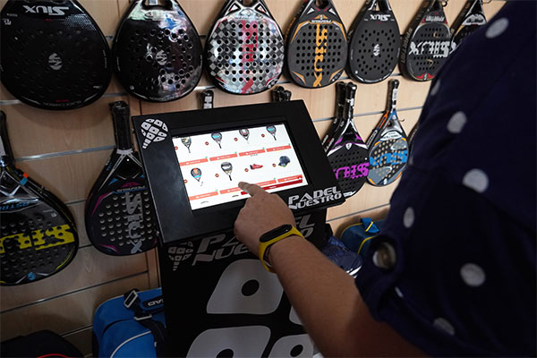 Padel Nuestro posibilita comprar online desde sus tiendas físicas