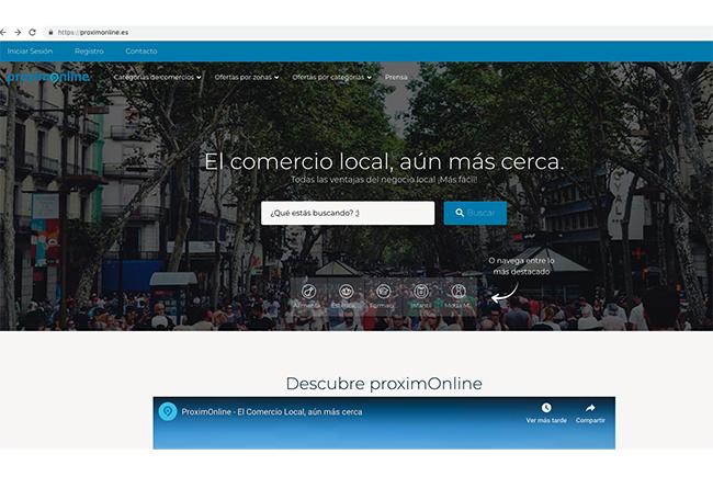 Nace ProximOnline, una plataforma para potenciar la omnicanalidad del pequeño comercio