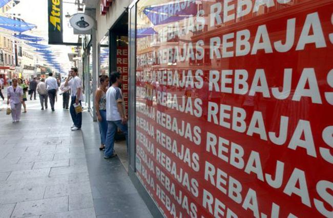Los derechos de los clientes de las tiendas de deportes en rebajas