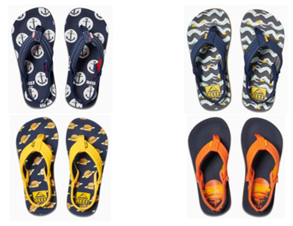 Reef presenta sus nuevas sandalias para niños