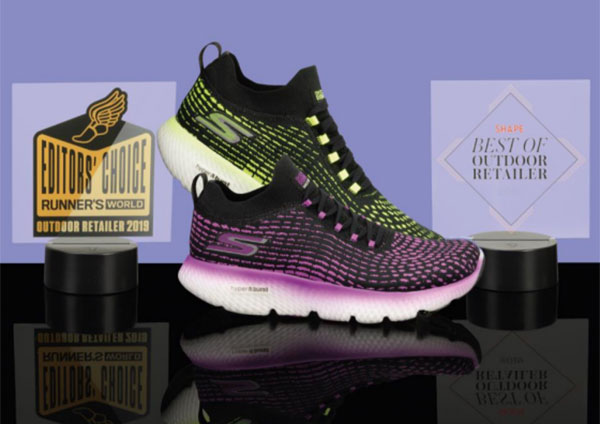 La Skechers Go Run MaxRoad 4 Hyper, premiada en Outdoor Retail 2019