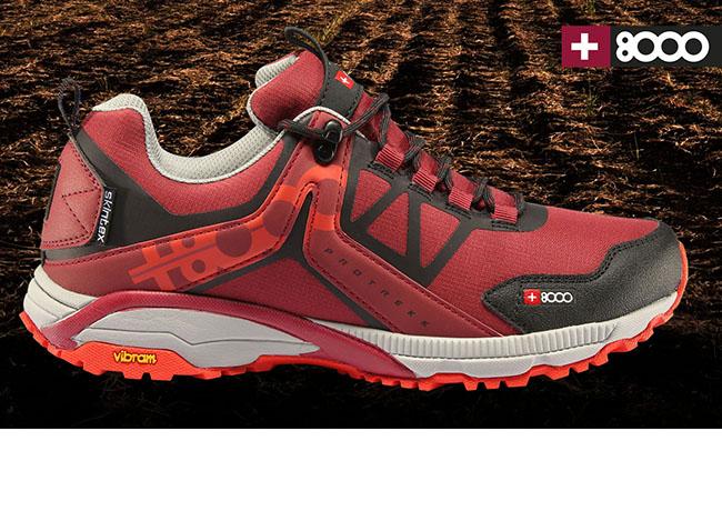 +8000 diseña una zapatilla para los terrenos más difíciles