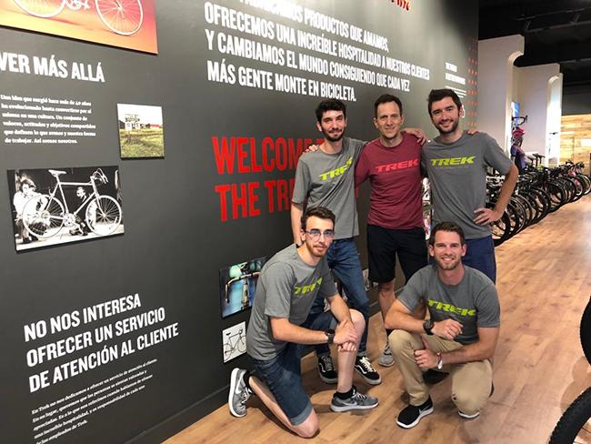 Trek inaugura su nueva tienda insignia en el centro de Barcelona