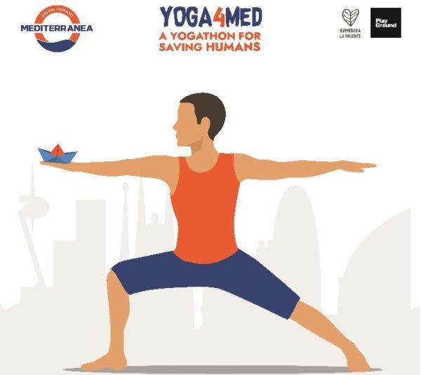 Yoga4Med llega primero a Barcelona