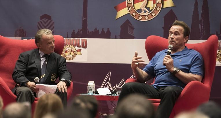 Arnold Schwarzenegger, de nuevo en Barcelona en la IX Arnold Classic Europe