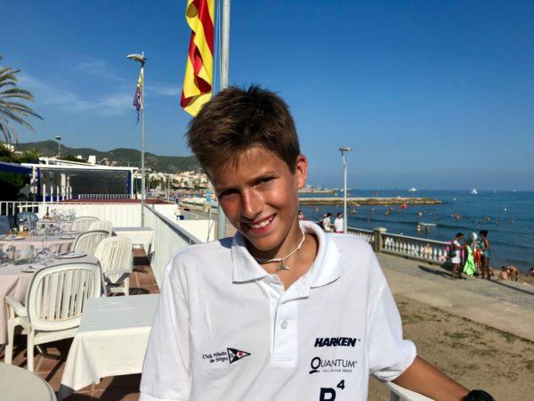 El Club Nàutic Sitges empieza dominando el Campeonato de Cataluña junior 2019