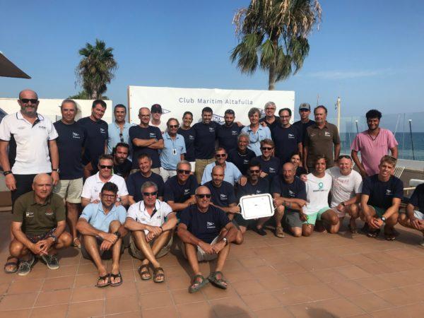 El Desafío 2019 entre Altafulla y Torredembarra a vista de dron