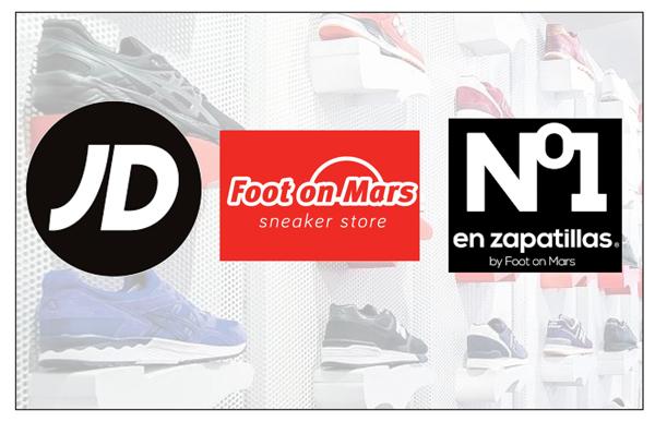 JD Sports, Nº1 en zapatillas y Foot on Mars lideran la expansión del canal sneaker