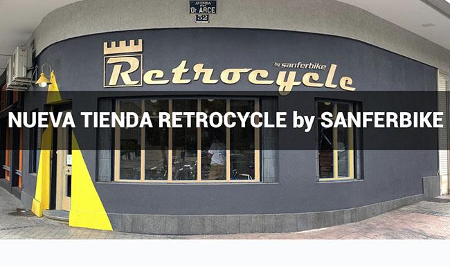 Sanferbike integra la tienda Retrocycle en su red