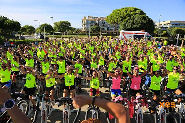 El evento solidario de cycling Pedals Non Stop, camino de los 500 inscritos