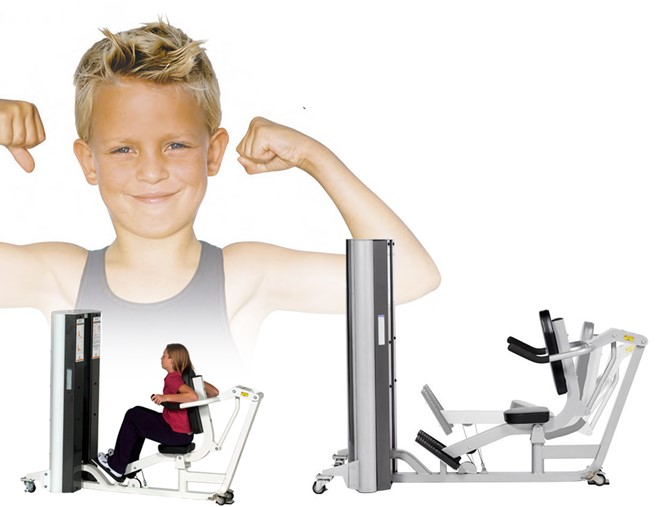 Rocfit relanza la línea Youth Fitness de Hoist para preadolescentes