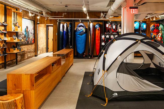 The North Face pone en marcha una nueva estrategia para sus concept stores