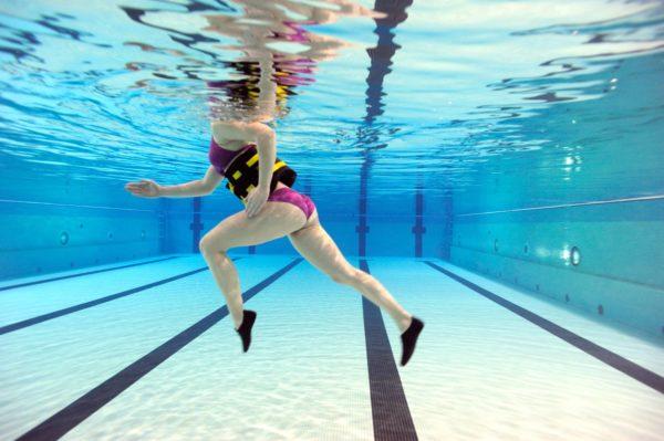 Tres entrenamientos para practicar en el agua