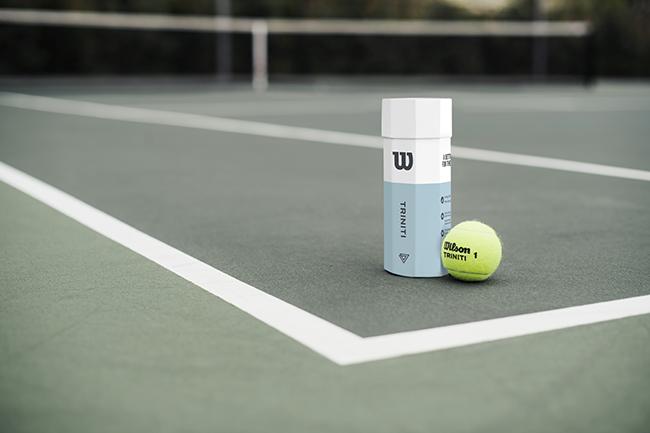 Wilson diseña la primera pelota de tenis sostenible