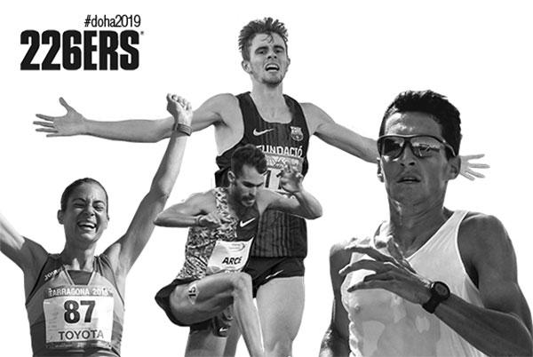 226ERS, con los atletas españoles en el Mundial de Atletismo de Doha