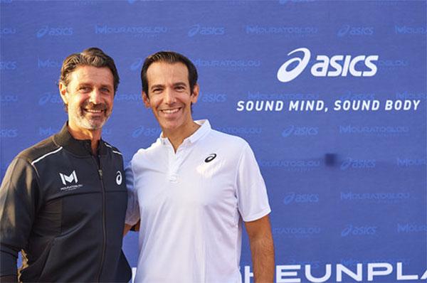 Asics firma como proveedor de la prestigiosa academia de tenis Mouratoglou