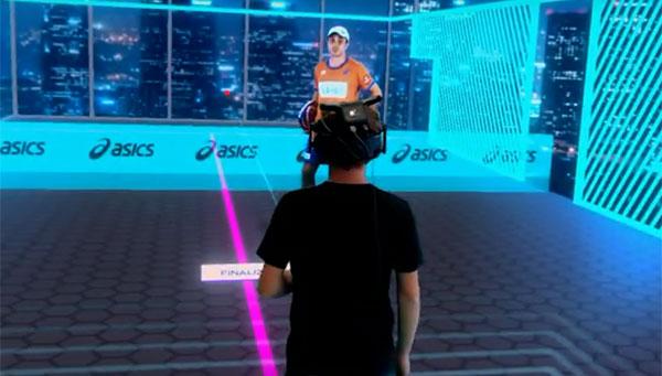 Asics tira de realidad virtual para promocionar el pádel