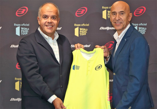 Bullpadel extiende su alianza con el World Padel Tour hasta 2021