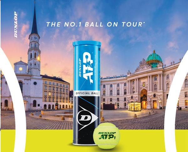 Dunlop coloca su pelota como la más usada en el ATP Tour